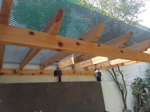 pergola , techos de madera , sombras