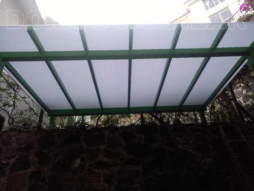 pergola  - techos y domos de policarbonato - pergola