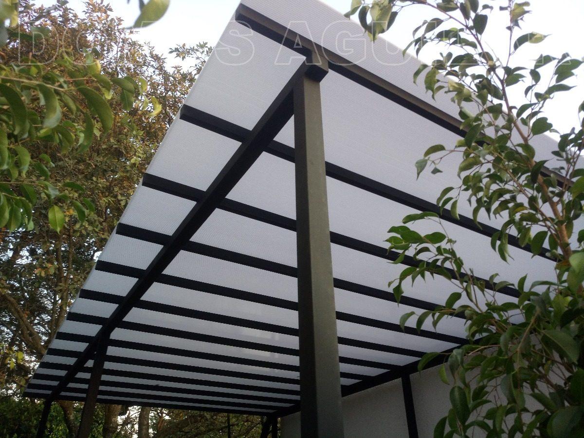 Pergola techos y domos de policarbonato pergola for Pergola policarbonato