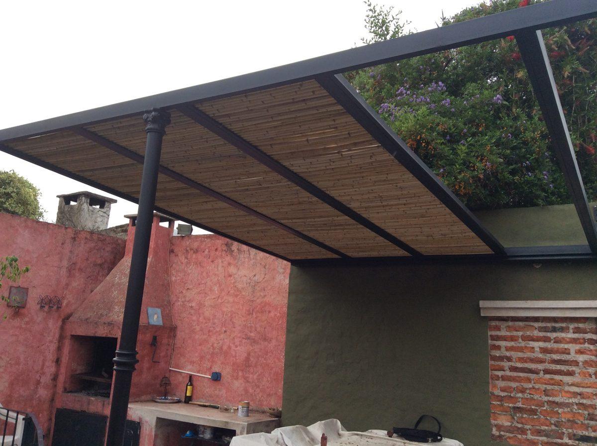 pergolas de hierro cao a medida techos