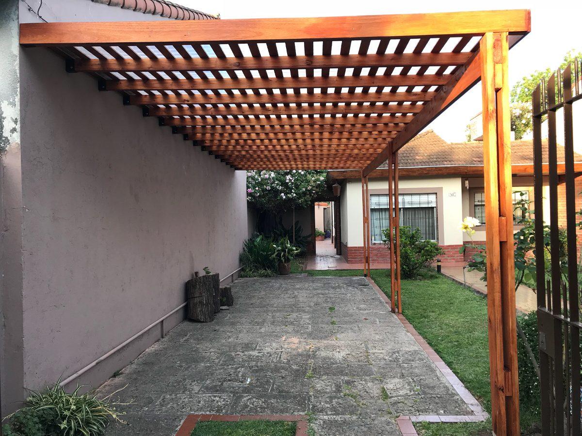 Pergolas De Madera Dura Rostrata - $ 853,33 en Mercado Libre