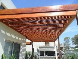 pergolas de madera madera para techo pergola