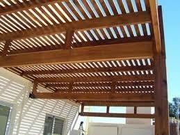 pergolas de madera madera para emparrillado techo pergola - Techos Para Pergolas