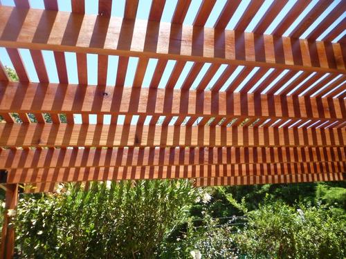 pergolas de madera x  m2