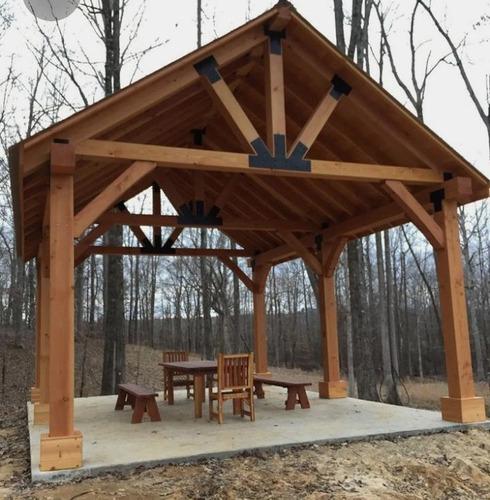 pergolas de madera y metal de muy buena calidad