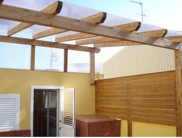 Pergolas especialistas techos madera dise o instalacion - Techos de pergolas ...