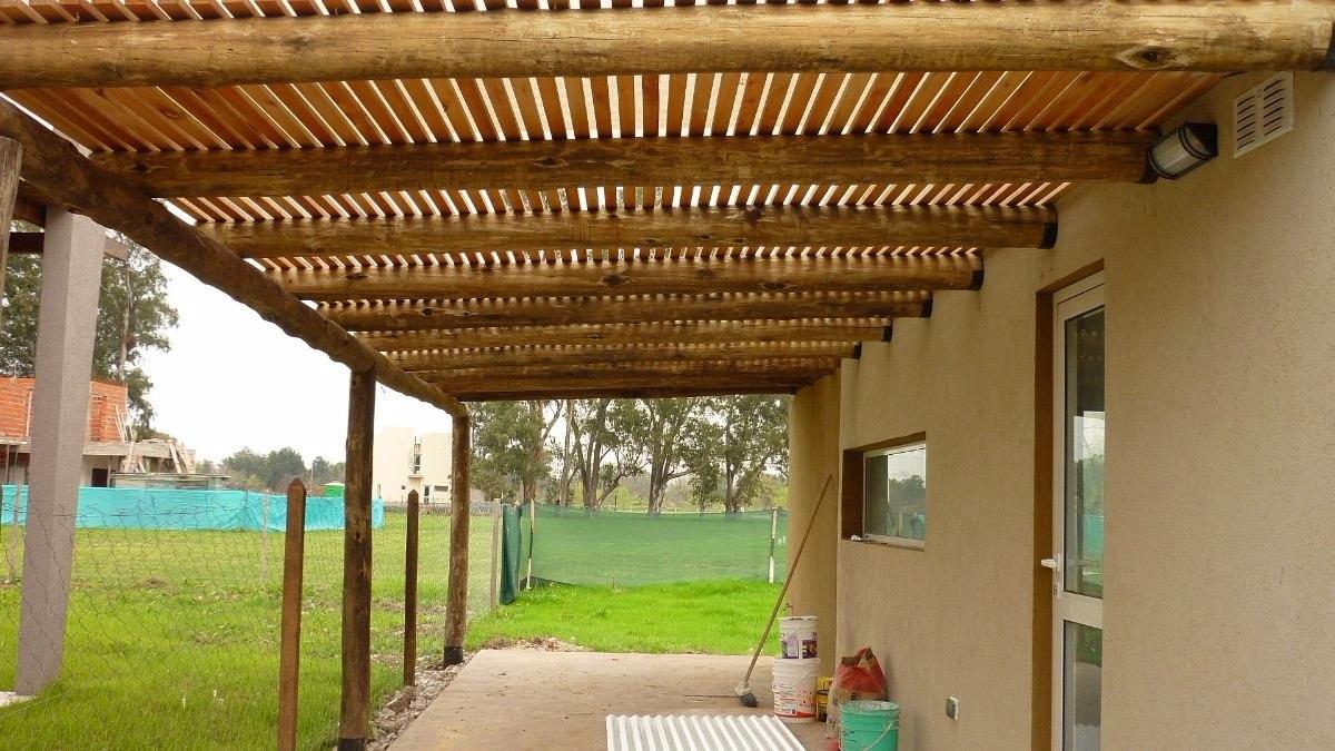 Postes de madera para pergolas treillage decorativos en - Postes para pergolas ...