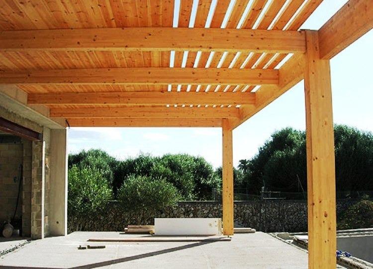 pergola madera 3x5