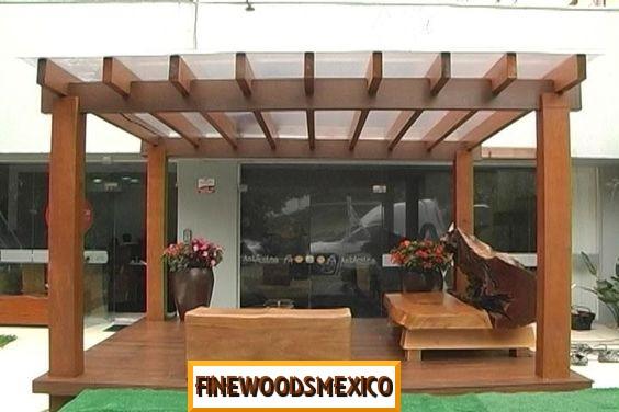 Pergolas madera decoracion terrazas madera teca pino decks for Pergolas de madera precios