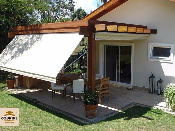 Pergolas madera decoracion terrazas madera teca pino decks for Terrazas cubiertas decoracion