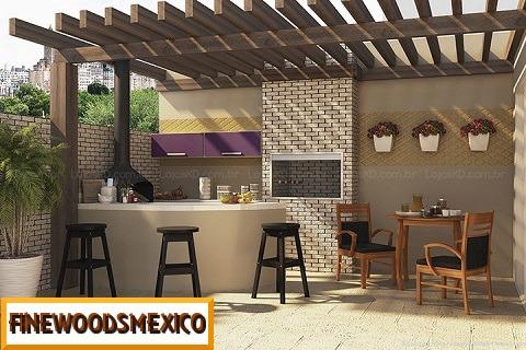 Pergolas madera terrazas jardines roof garden decoracion for Techos de madera para patios