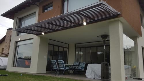 pergolas policarbonato techos estructuras metalicas cubierta