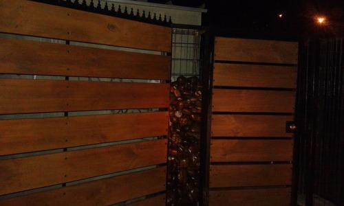 pergolas, quinchos y portones automatizados. valparaiso/viña