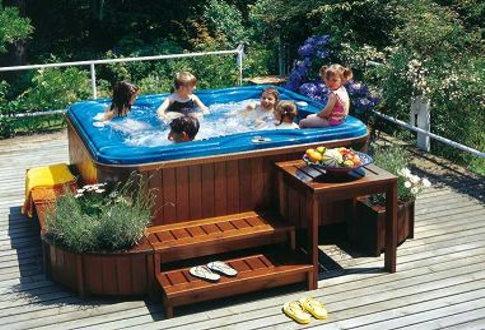 Pergolas techos deck de pino cca o itauba 750 00 en - Minipiscinas para terrazas ...