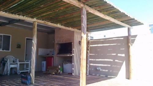 pergolas techos gacebos cañas , bambu  ,madera , troncos