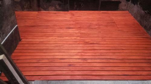 pergolas y deck de madera