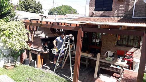 pergolas y decks construcción y reparación