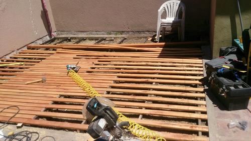 pergolas y techos de madera