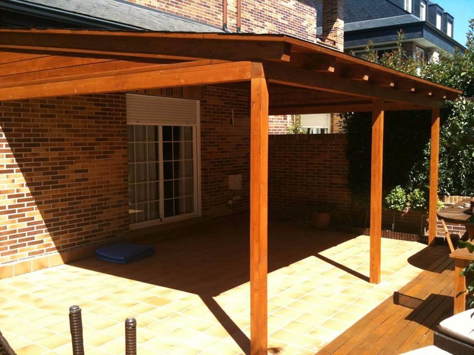 Pergolas y techos de madera u s 85 00 en mercado libre - Techos para pergolas de madera ...
