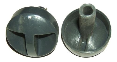perilla calefon universal cu 125/ 145 t/b gris topo c/ largo