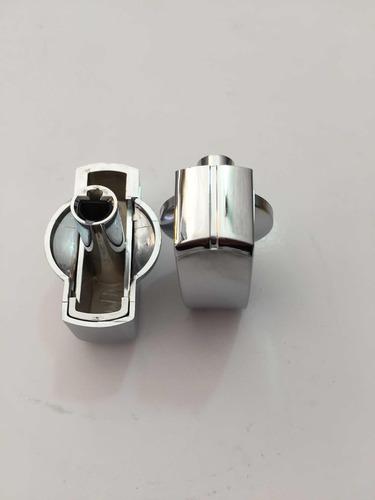 perilla  color  plata original  para parrilla mabe profile