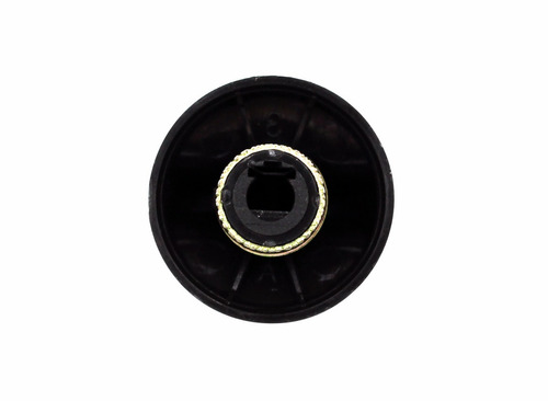 perilla de anafe longvie grafito con aro (14376/g) 4 uni.