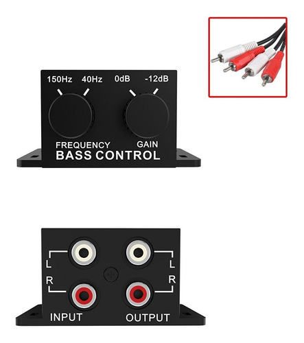 perilla de control de volumen de audio para bajos de a...