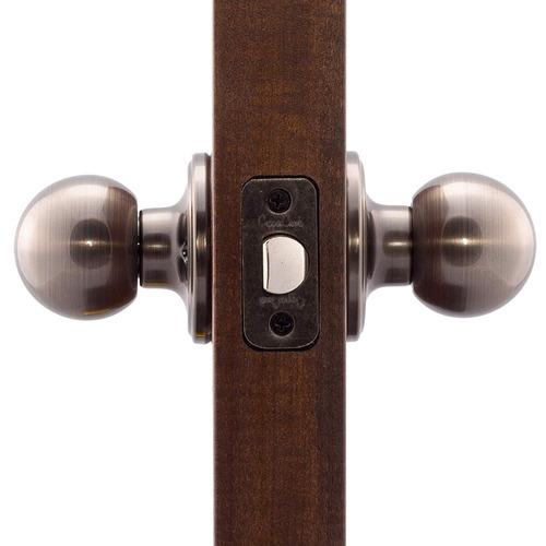 perilla de puerta del pasaje bola cobre creek bk2020an, níq