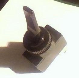 perilla larga 12 volt 20 amp llave punto tecla interruptor