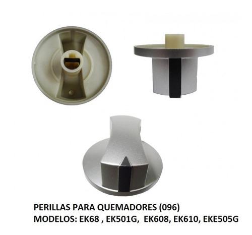 perilla para quemador  estufa  koblenz original  gris
