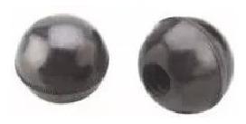 perilla redonda de palanca de cambios con rosca - agrorep