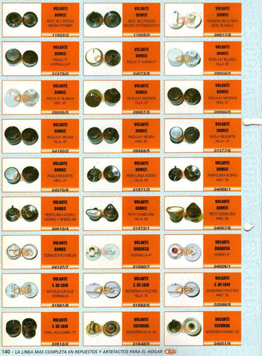 perilla volante arthy art.11320/1 mod.99 marron p/corto hlla
