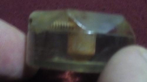 perillas combinado antiguo c/ prisionero - lote x 5