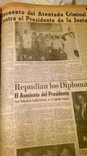 periódico el nacional noviembre 1950 empastado