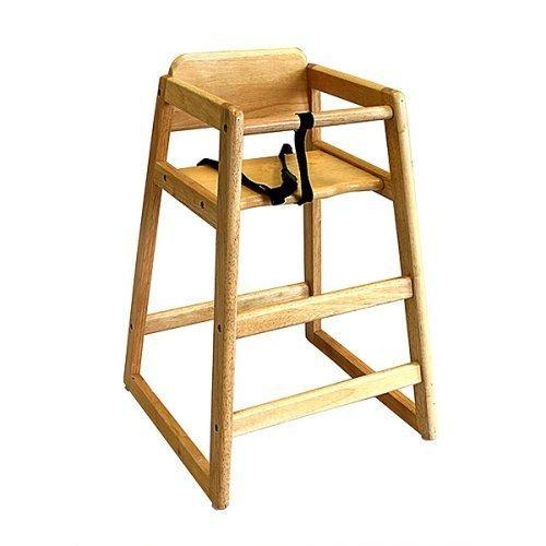 Periquera silla para restaurant restaurante bebe ni o hm4 for Silla de bebe de madera