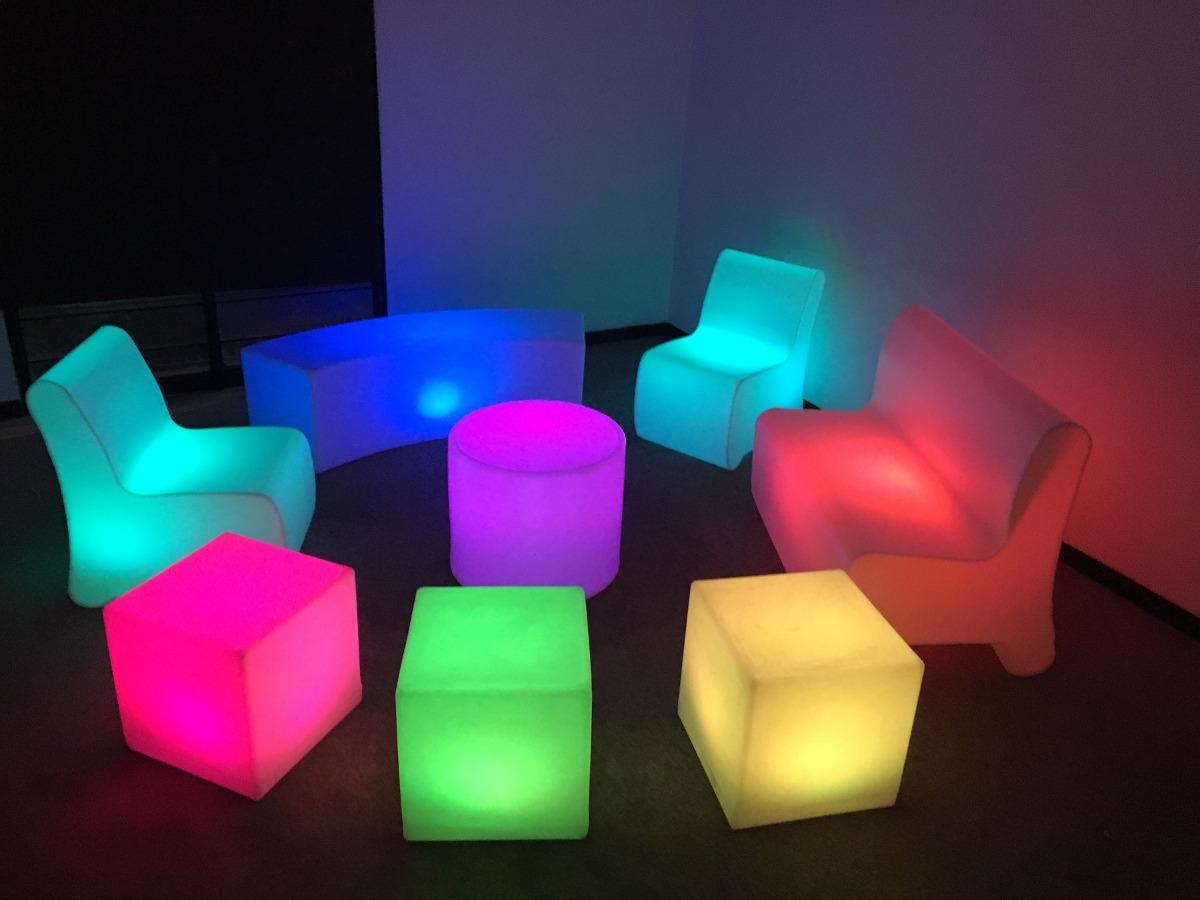 Periqueras Iluminadas Salas Lounge Iluminadas 400 00 En  # Muebles Lounge Para Eventos
