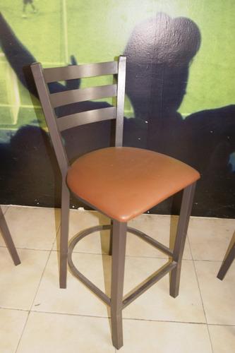 periqueras y sillas restauranteras