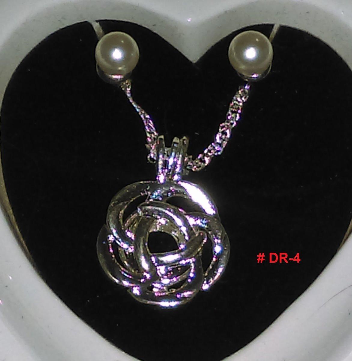 168d3f235b5c Perla Cultivada En Ostra Real+dije