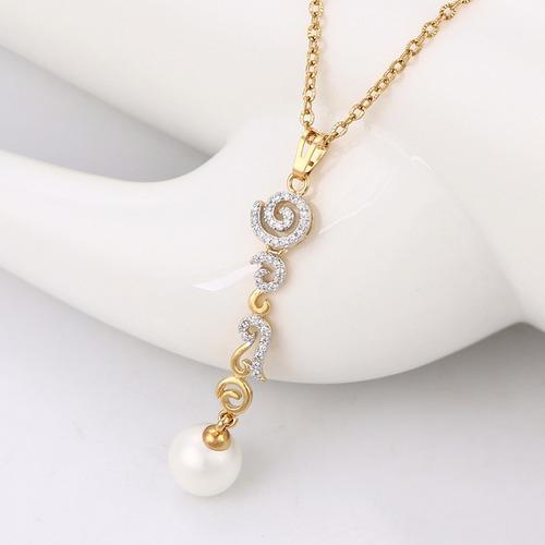 perla oro aretes