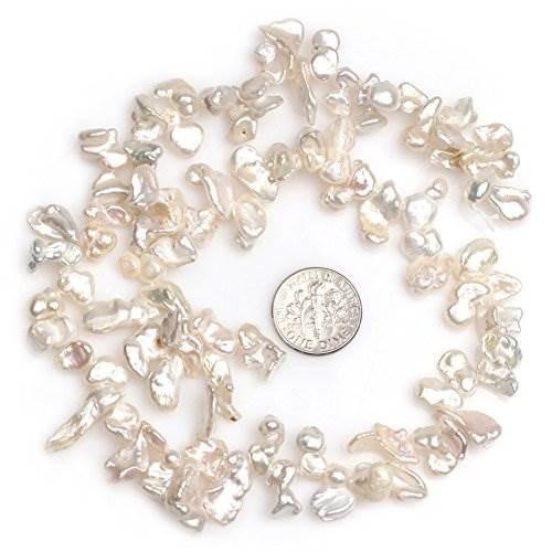 perlas de perlas cultivadas de agua dulce perforadas freefor