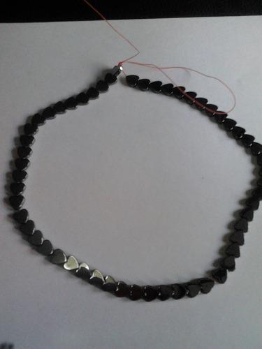 perlas en acerina para la confeccion de collares