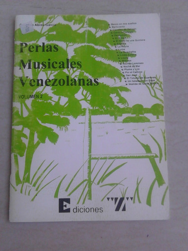 perlas musicales venezolanas partituras