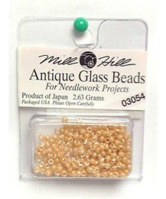 perlas para coser de vidrio desert sand 2.5mm mill hill