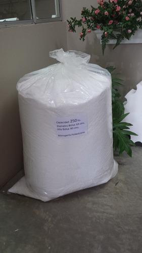 perlas para relleno plumavit 250 litros iva incluido