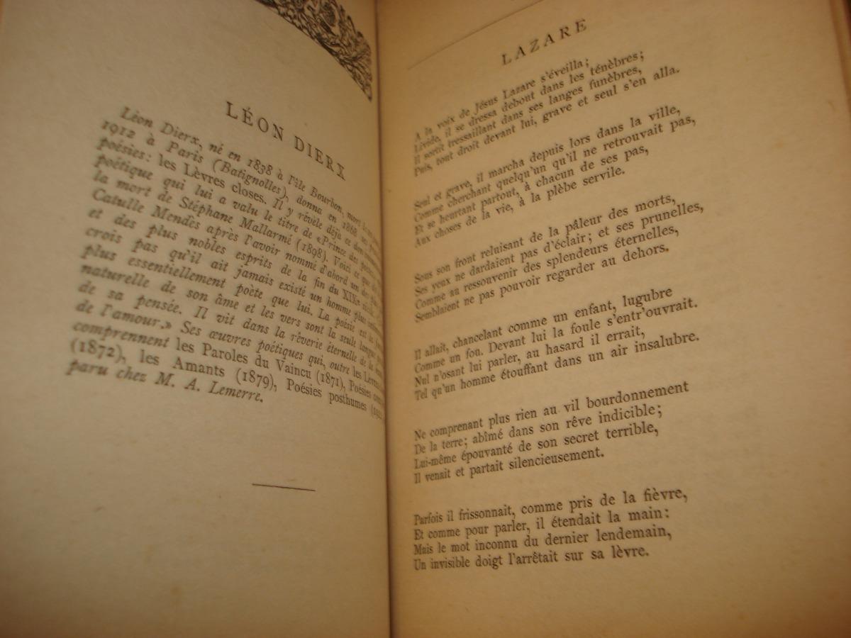 Perles De La Poésie Française Lacomblé Circa 1920 85000