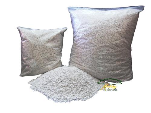 perlita expandida substrato para hidroponia - 5 litros