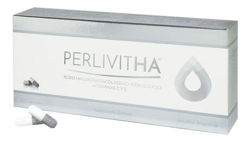 perlivitha perlavita ácido hialurónico colágeno x 30 caps