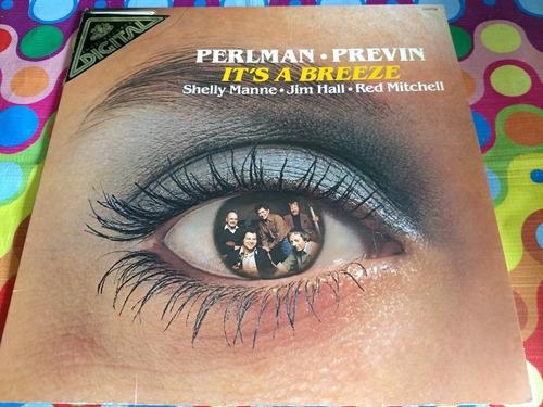 perlman previn lp it's a breeze 1981
