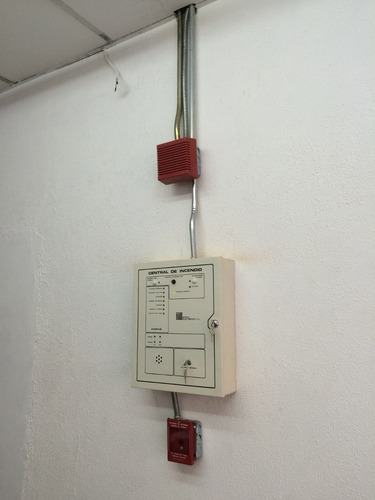 permiso bomberos - central de incendio - recarga extintores