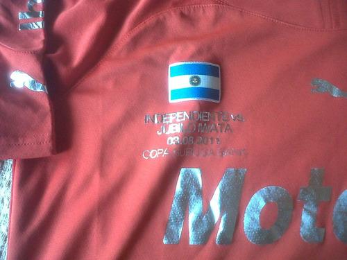 permuta camiseta independiente suruga  nº6- nº serie 734